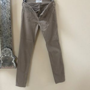 Khaki pants/ jeans very soft.like new